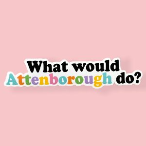What would Attenborough do?
